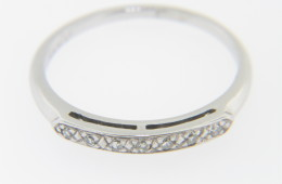 Vintage 0.20ctw Round Diamond Timeless Band Ring in Platinum Size 6.75