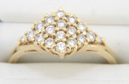 Vintage Timeless 0.50ctw Round Diamond Ring in 14k Yellow Gold Size 6.5