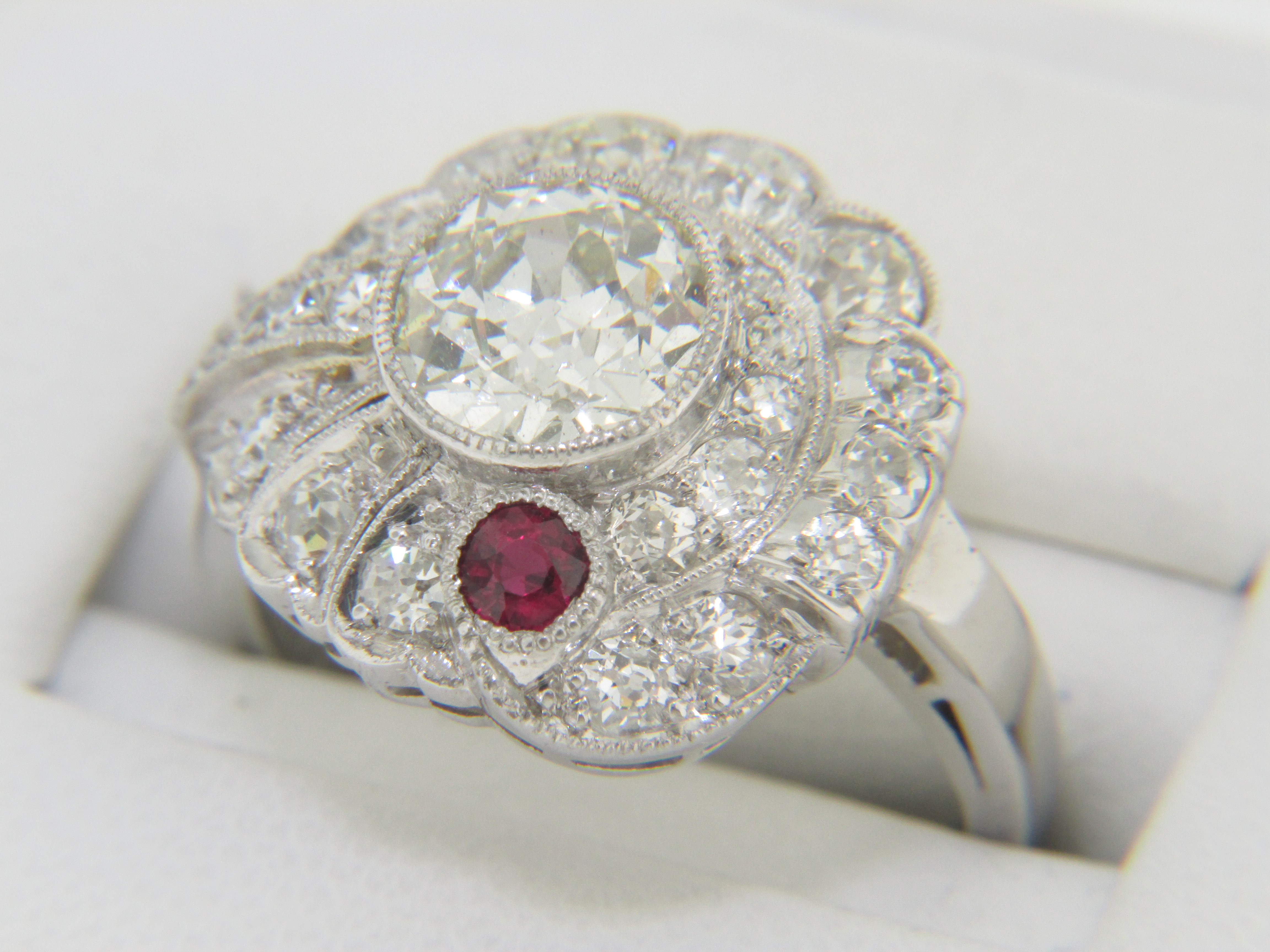 Set Ruby That Measures Approx 325mm In Diameter This Is A Very Unique  And Whimsical Design, A True Work Of Art! The Price Of This Ring Is  $9,60000