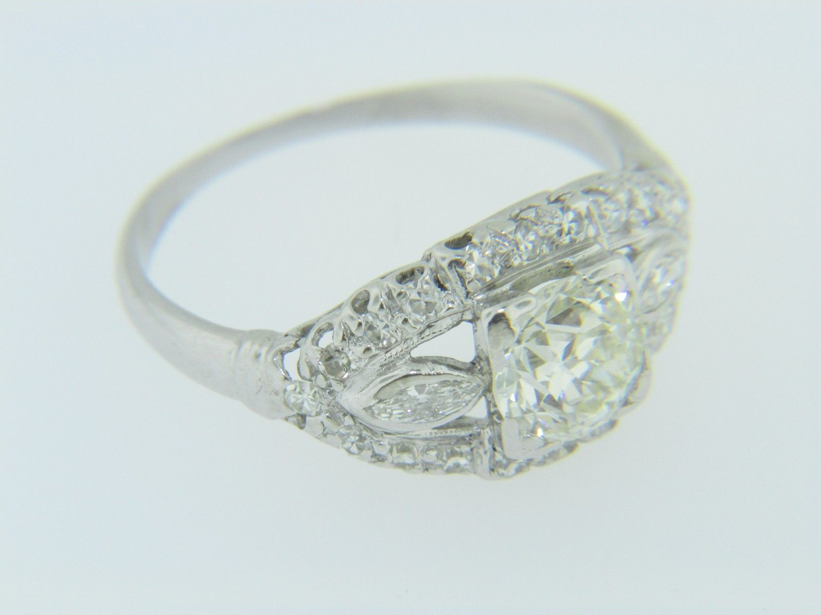 vintage ladies sku size ring diamond white shop cut engagement old gold mine rings